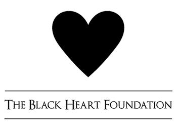 The Black Heart Foundation logo